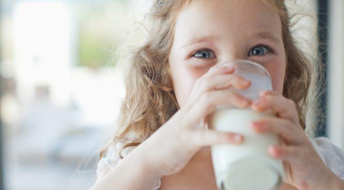 Млякото и яйцата полезни за малчуганите