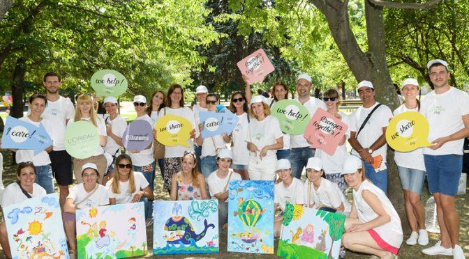 """L'Oréal и фондация """"За Нашите Деца"""" в подкрепа на приемната грижа"""