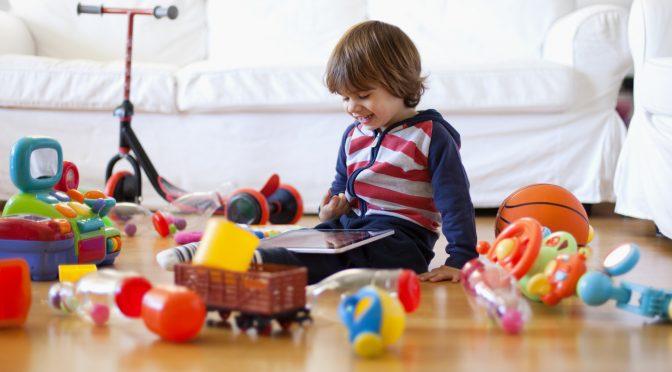 Играчките според възрастта