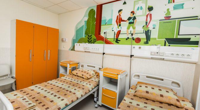 """Детското отделение на """"Пирогов"""" радва малчуганите с новата си визия и удобства"""