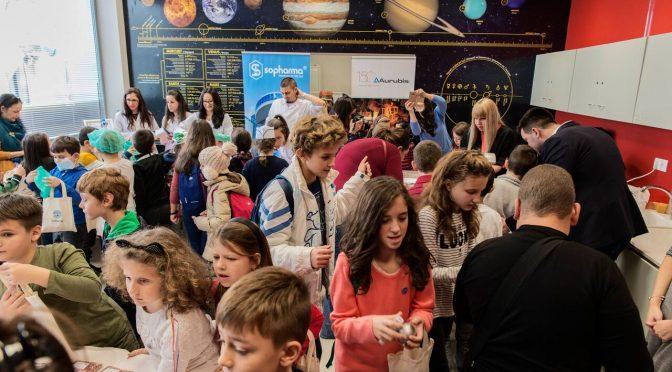 Близо 2000 деца, родители и учители посетиха Детския базар на професиите тази година