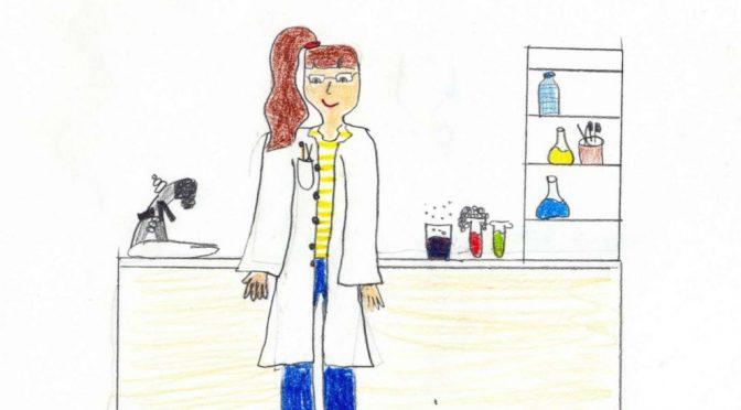 Все по-често децата асоциират думата учен с жена в бяла престилка