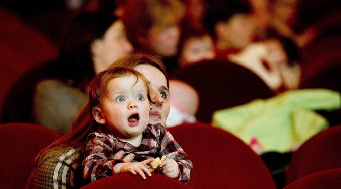 С деца и бебета на кино в Дома на киното