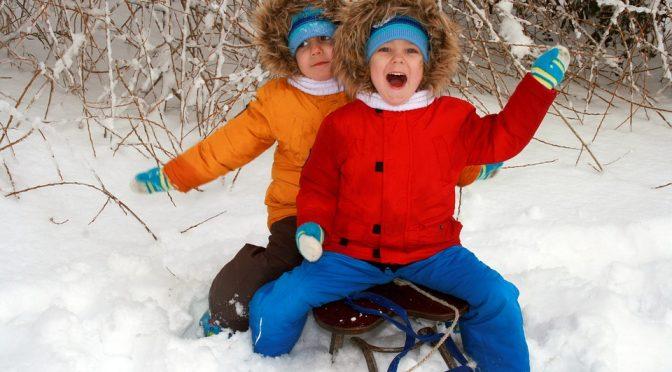 Разходките през зимата – облечете се топло
