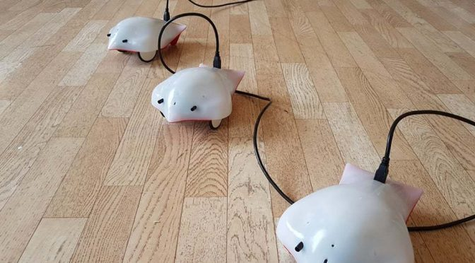 Роботи радват децата в ловеч