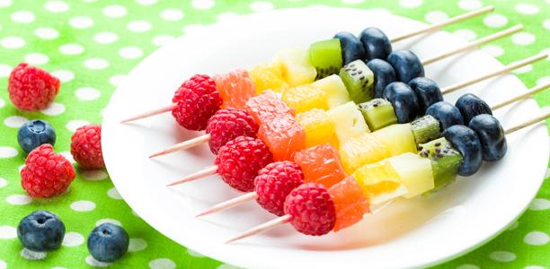 Храна в цветовете на дъгата. Вкусно, полезно и забавно