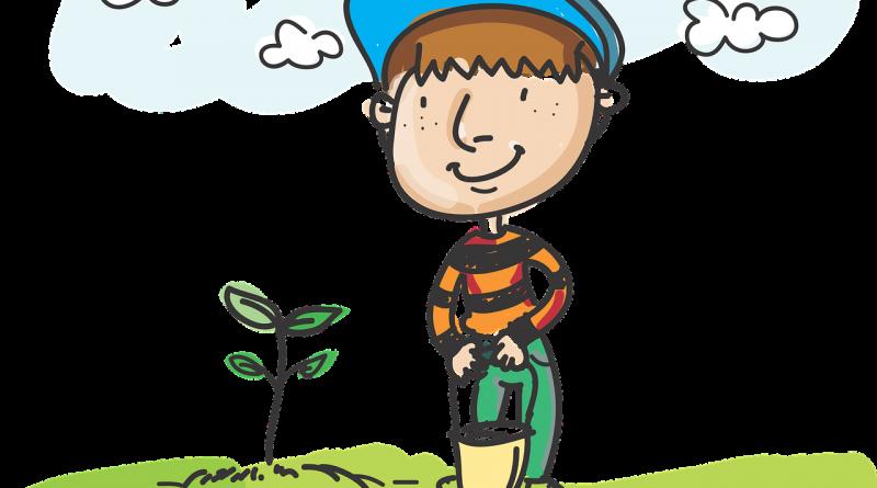 Деца от Обзор се присъединиха към инициатива за засаждане на дръвчета